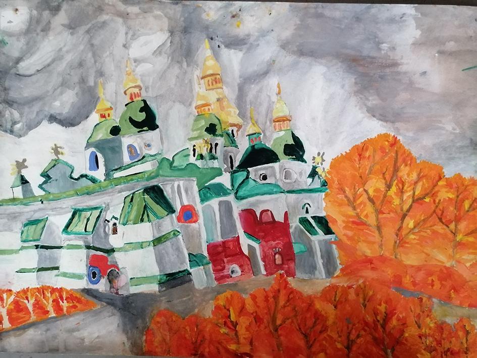 Осінь в Софії Київській